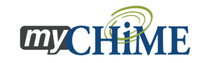 The logo for myCHIME needed to coordinate with the existing CHIME logo.
